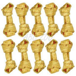 Žúvací uzol pre psov, hovädzí s kuracím mäsom - 18,5 cm - 10 ks