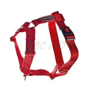 Postroj pre psy, nylonový - červený, 62 - 100 cm