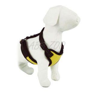 Postroj pre psa - hrubý, žltý - S / 30 - 38
