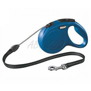 Flexi vodítko New Classic M do 20kg, 5m lanko - modré