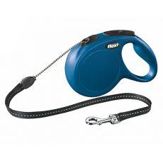 Flexi vodítko New Classic M do 20kg, 8m lanko - modré