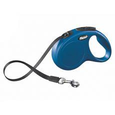 Flexi vodítko New Classic M-L do 50kg, 5m popruh - modré