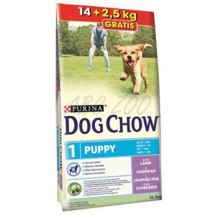 PURINA DOG CHOW PUPPY Lamb & Rice 14kg + 2,5 kg GRATIS