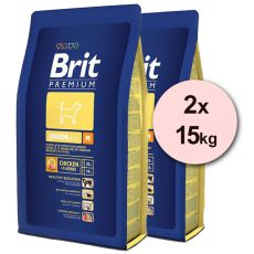 Brit Premium Junior Medium 2 x 15kg