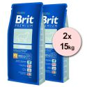 Brit Premium Light 2 x 15kg