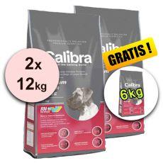 CALIBRA Premium Junior Large 2 x 12 kg + 6 kg