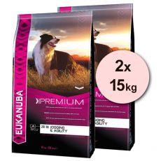 EUKANUBA ADULT JOGGING & AGILITY - 2 x 15 kg