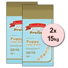 Frank´s Pro Gold Puppy Large Breed 28/16 - 2 x 15kg