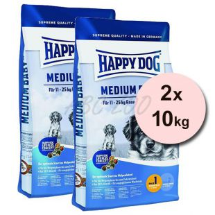 Happy Dog Supreme Medium Baby 2 x 10 kg