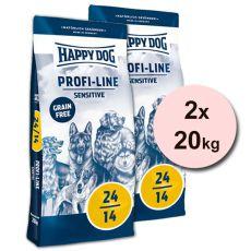 Happy Dog 24-14 SENSITIVE GRAINFREE 2 x 20 kg