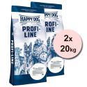 Happy Dog Profi NATURKOST 2 x 20 kg