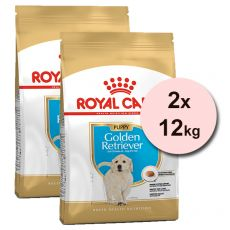 ROYAL CANIN Golden Retriever Puppy granule pre šteňa zlatého retrievera 2 x 12 kg