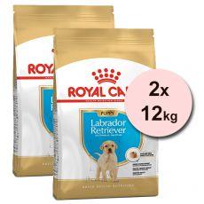 ROYAL CANIN Labrador Puppy granule pre šteňa labradora 2 x 12 kg