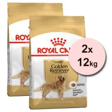 ROYAL CANIN Golden Retriever Adult granule pre dospelého zlatého retrievera 2 x 12 kg