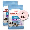 Royal Canin Giant Starter Mother&Babydog granule pre brezivé alebo dojčiace suky a šteňatá obrích plemien 2 x 15 kg