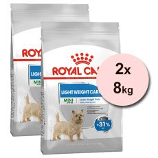 ROYAL CANIN Mini Light Weight Care diétne granuly pre psy 2 x 8 kg