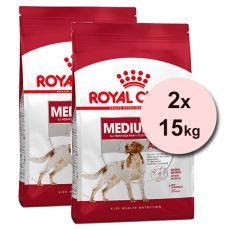 ROYAL CANIN Medium Adult granule pre dospelé stredné psy 2 x 15 kg