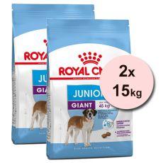 Royal Canin Giant Junior granule pre obrie šteňatá 2 x 15 kg