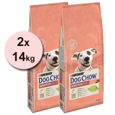 PURINA DOG CHOW SENSITIVE Salmon & Rice 2 x 14 kg