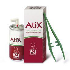 ATIX súprava na odstraňovanie kliešťov - 9ml sprej + pinzeta