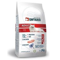 Ontario Cat Adult Chicken 2kg