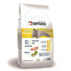 Ontario Cat Adult Indoor 2kg