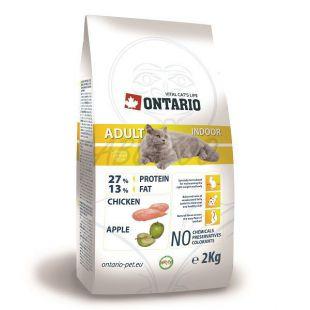 Ontario Cat Adult Indoor 2kg