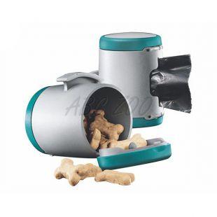 Flexi Vario Multi Box zásobník, tyrkysový + vrecúška na odpad