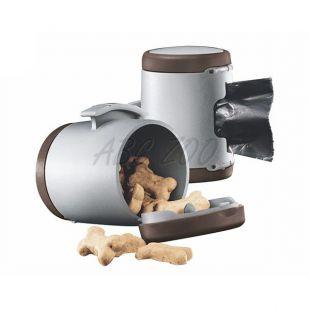Flexi Vario Multi Box zásobník, hnedý + vrecúška na odpad