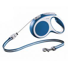 Flexi Vario M vodítko do 20kg, 5m lanko - modré