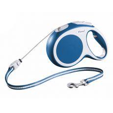 Flexi Vario M vodítko do 20kg, 8m lanko - modré