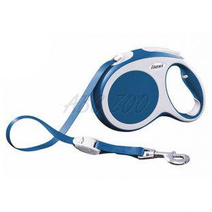 Flexi Vario L vodítko do 60kg, 5m popruh - modré