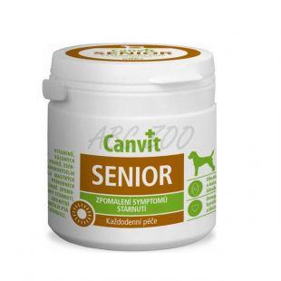 Canvit Senior - vitamínový prípravok proti starnutiu pre psov, 100g