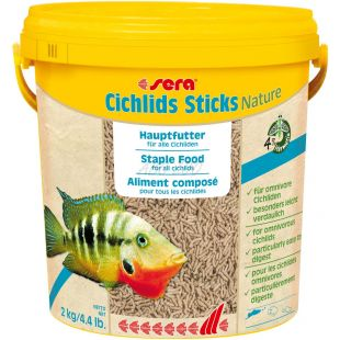 sera Cichlids Sticks 10L / 2kg