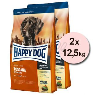 Happy Dog Supreme Toscana 2 x 12,5kg