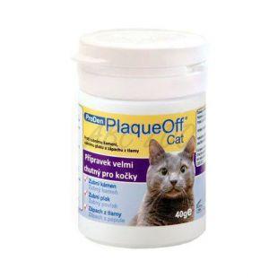 PlaqueOff Cat - odstránenie a prevencia zubného kameňa, 40g