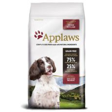 Applaws Dog Adult Small & Medium Breed Chicken & Lamb 7,5kg