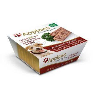 Applaws Paté Dog - paštéta pre psov s kuracím mäsom a zeleninou, 150g