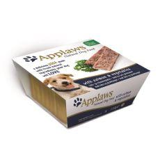 Applaws Paté Dog - paštéta pre psov s lososom a zeleninou, 150g