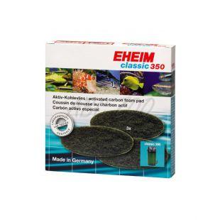 EHEIM filtračná vložka s aktívnym uhlím pre filter Classic 350 (2215) - 3 ks