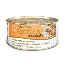 Applaws Cat Jelly - konzerva pre mačky s kuraťom a makrelou, 70g