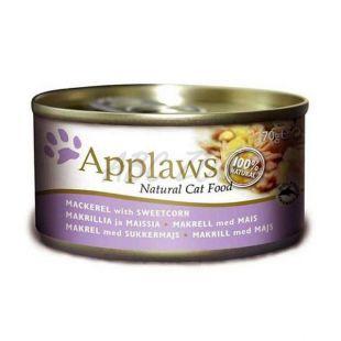 Applaws Cat - konzerva pre mačky s makrelou a kukuricou, 70g