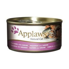 Applaws Cat - konzerva pre mačky s makrelou a sardinkou, 70g
