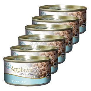 Applaws Cat - konzerva pre mačky s tuniakom, 6 x 70g
