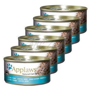 Applaws Kitten - konzerva pre mačiatka s tuniakom, 6 x 70g