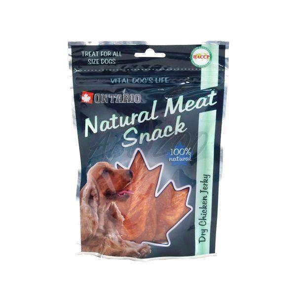 cc28a6be2 Kuracie plátky, sušené - pamlsky pre psa ONTARIO, 70 g | ABC-ZOO
