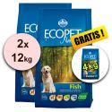Farmina MO P ECOPET N dog FISH MAXI 2 x 12kg + 4kg GRATIS