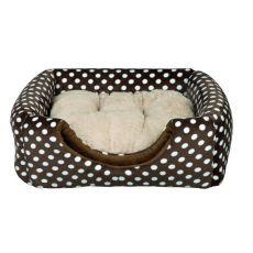 Pelech pre psa alebo mačku Mina - hnedý, 35 x 35 x 35 cm