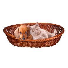 Prútený pelech pre psa alebo mačku - 50 cm