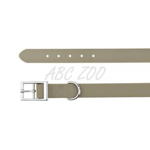 Obojok pre psy z PVC - tmavošedý XL, 59 - 67 cm